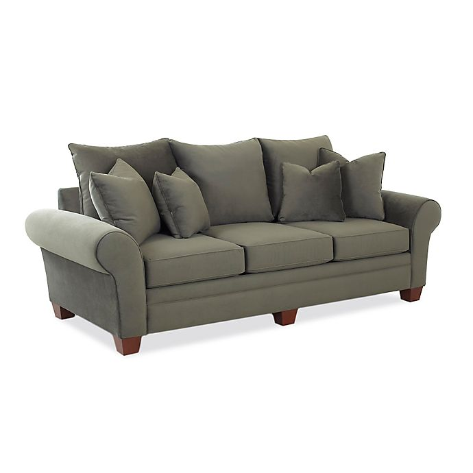 Klaussner Leather Sofa Review: Klaussner® Kazler Sofa In Pewter