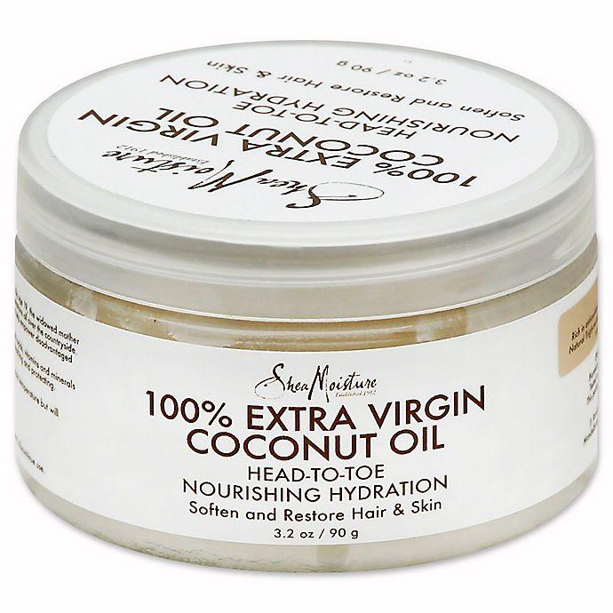 Alternate image 1 for SheaMoisture® 3.2 fl. oz. Pure Virgin Coconut Oil
