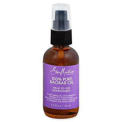 SheaMoisture® 1.6 fl. oz. 100% Pure Baobab Oil Head To Toe Nourishment