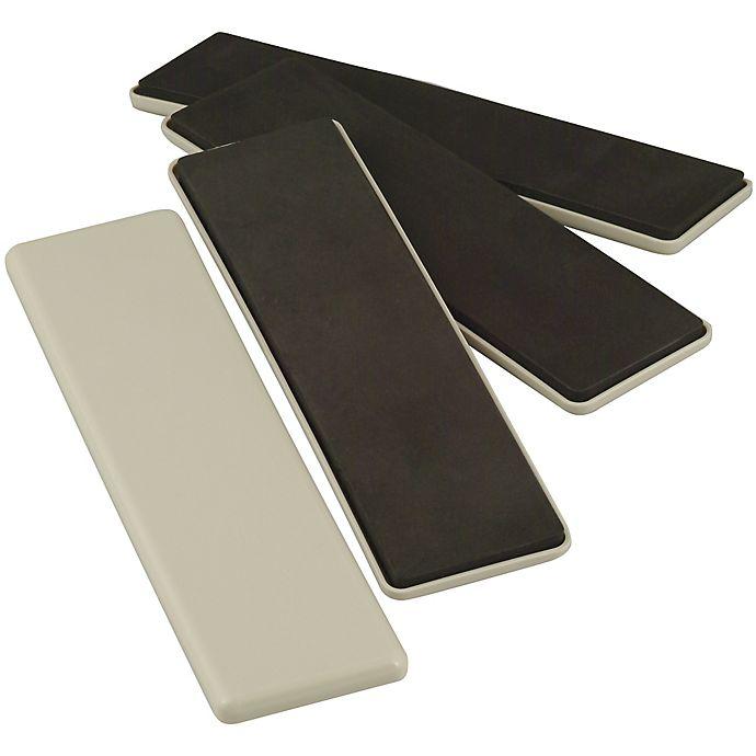 Alternate image 1 for SuperSliders® 4-Pack Reusable Rectangle Hard Sliders