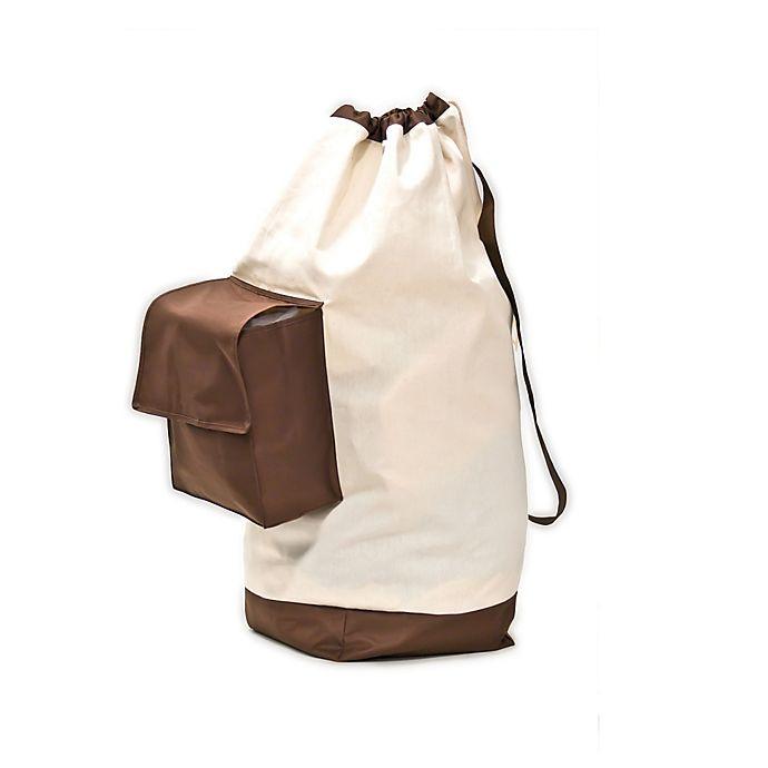 Alternate image 1 for Neatfreak® Cotton Laundry Bag with Pocket