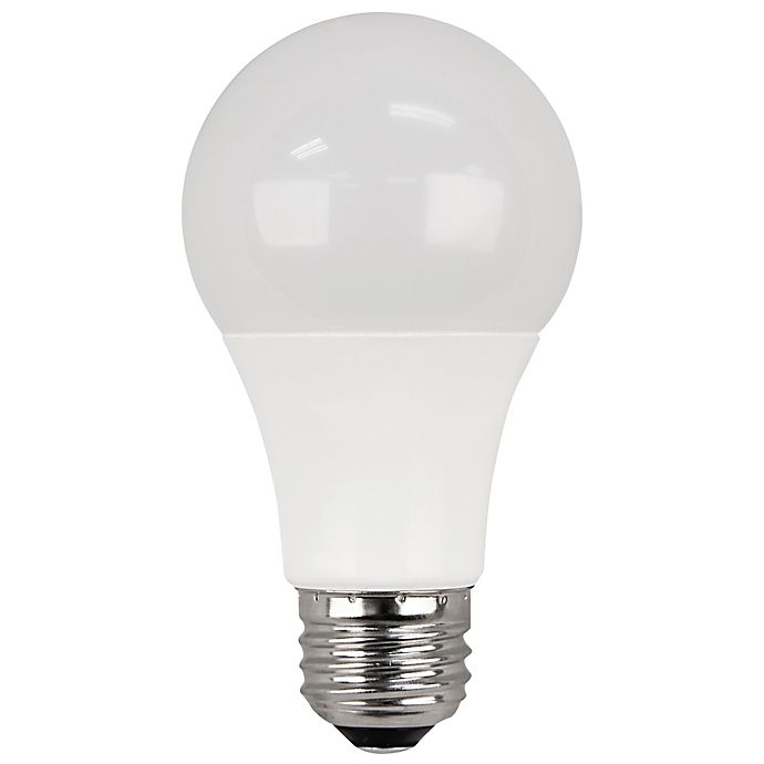 Alternate image 1 for Feit Electric 4-Pack A19 Medium-Base Non-Dimmable LED Bulb