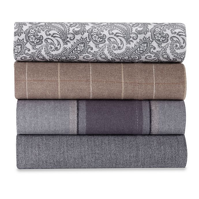 Alternate image 1 for Luxury Portuguese Flannel Sheet Set