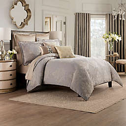 Valeron Elandra King Duvet Cover in Grey