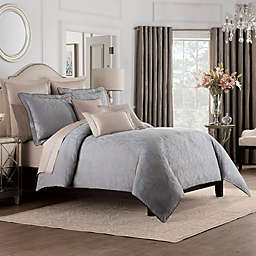 Valeron Gizmon Full/Queen Duvet Cover in Taupe/Grey