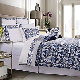 Tribeca Living Catalina 300-Thread-Count Premium Cotton Percale Comforter Set in Blue