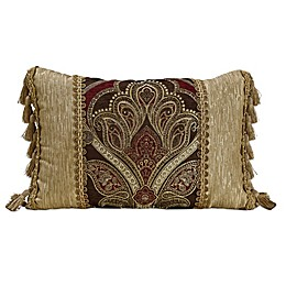 Croscill® Bradney Boudoir Throw Pillow in Red/Gold