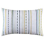 Fiesta Embroidered Stripe Decorative Pillow