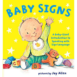 """Baby Signs"" Picture Book Illustrated by Joy Allen"