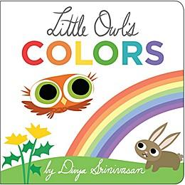 Little Owl's Colors Illustrated Book by Divya Srinivasan