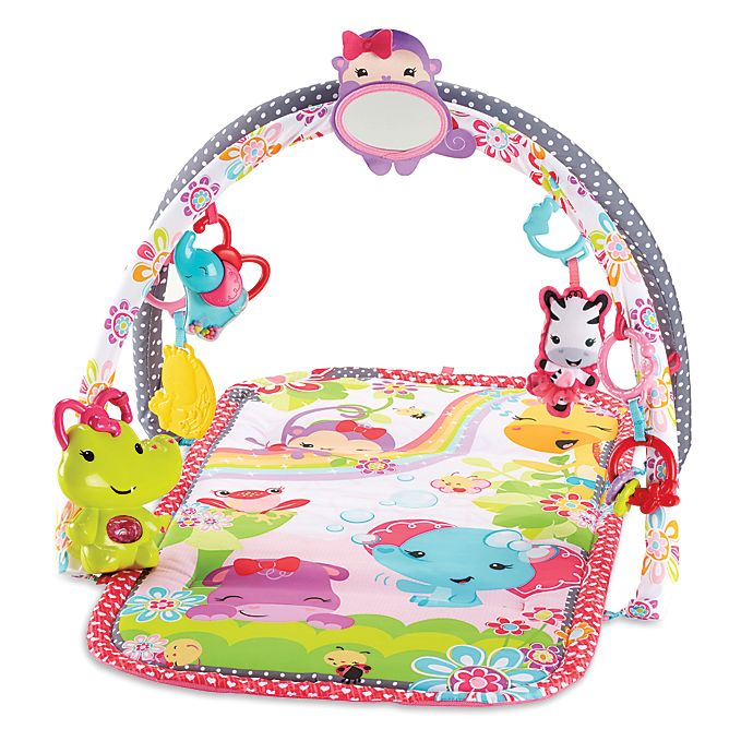 Alternate image 1 for Fisher-Price® 3-in-1 Musical Activity Gym