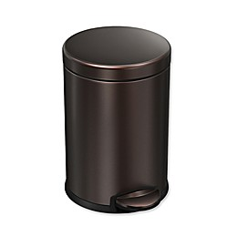 Simple Human 4.5 Liter Step Can in Dark Bronze
