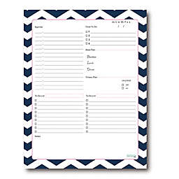 Kahootie Co® Daily Schedule Notepad in Blue