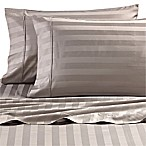 Wamsutta® Dream Zone® Stripe 1000 TC PimaCott® Standard Pillowcases in Grey (Set of 2)