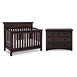 Serta® Fernwood Nursery Furniture Collection in Dark Chocolate