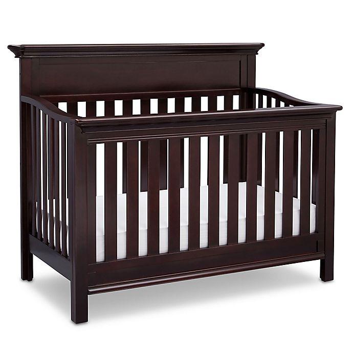 Serta® Fernwood 4-in-1 Convertible Crib in Dark Chocolate ...