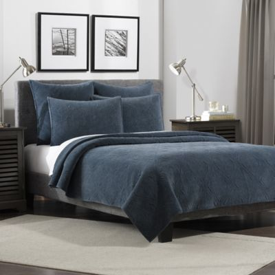 Flat Iron Lynden Velvet Quilt Bed Bath Amp Beyond