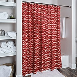 Rizzy Home Ikat Shower Curtain