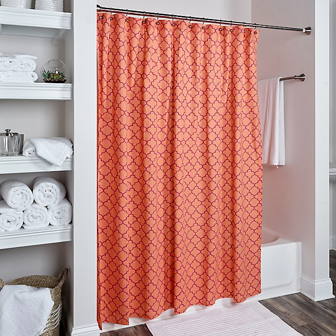 Alternate image 1 for Rizzy Home Moroccan Shower Curtain