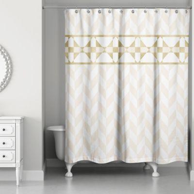brushed gold shower curtain hooks
