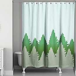 Charming Pines Shower Curtain