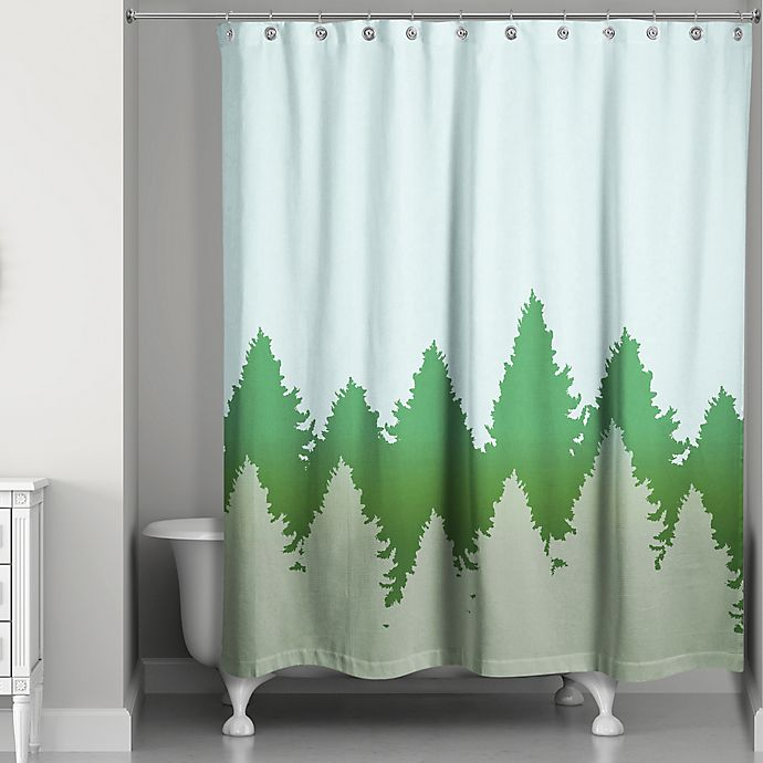 Alternate image 1 for Charming Pines Shower Curtain
