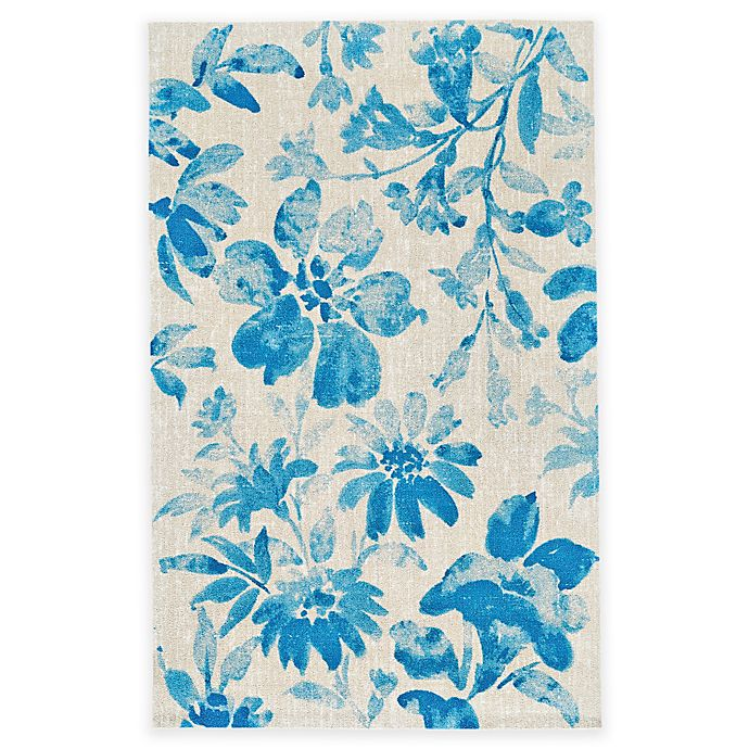Buy Feizy Lola 5-Foot X 8-Foot Area Rug In Aqua From Bed