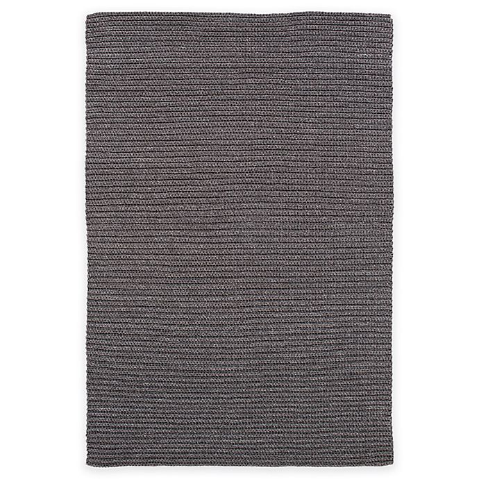 Alternate image 1 for Surya Tallinn 4-Foot x 6-Foot Indoor/Outdoor Area Rug in Black
