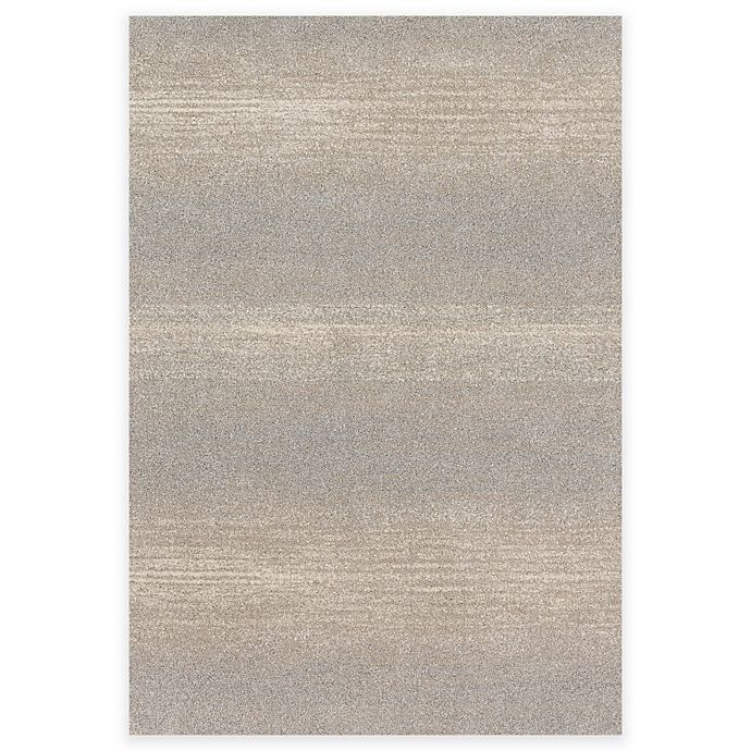 Alternate image 1 for Loloi Rugs Emery Stripes 3-Foot 10-Inch x 5-Foot 7-Inch Area Rug in Silver