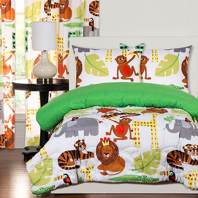 Alternate image 1 for Crayola® Jungle Love Bedding Collection