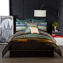 Vince Camuto® Lille Reversible Comforter Set in Green