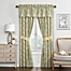 Part of the Waverly® Paisley Verveine Lined Cotton Window Curtain Panels and Valance in Spring