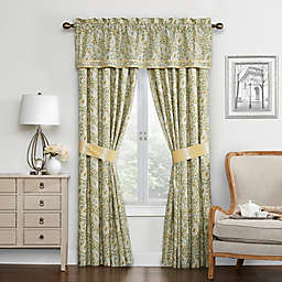 Waverly® Paisley Verveine Lined Window Valance in Spring