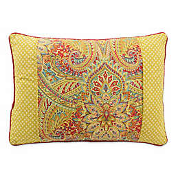Waverly® Swept Away Reversible Rectangle Throw Pillow in Berry