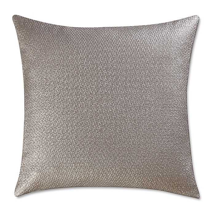 Vince Camuto 174 Lille Metallic Woven 20 Inch Square Throw