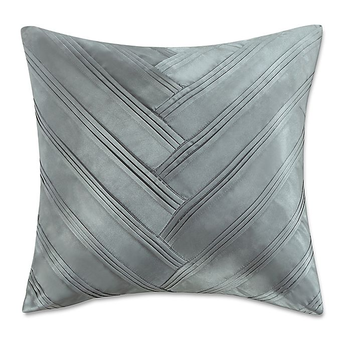 Vince Camuto 174 Lille V 16 Inch Square Throw Pillow In Green