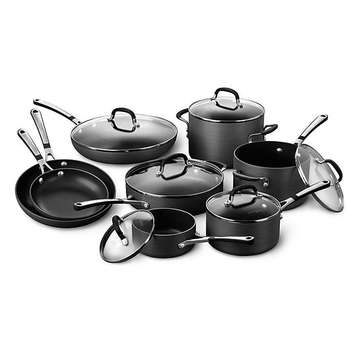 Calphalon Kitchen Outlet: Simply Calphalon® Nonstick 14-Piece Cookware Set And Open