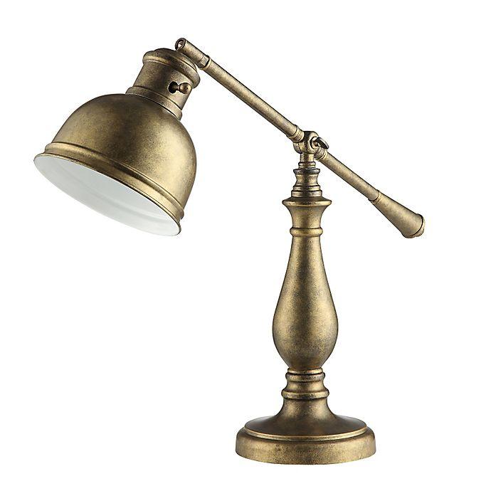 Alternate image 1 for Verona Home Bradford Task Lamp in Brass