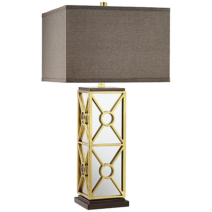 Alternate image 1 for Kathy Ireland Gold Reflections Table Lamp