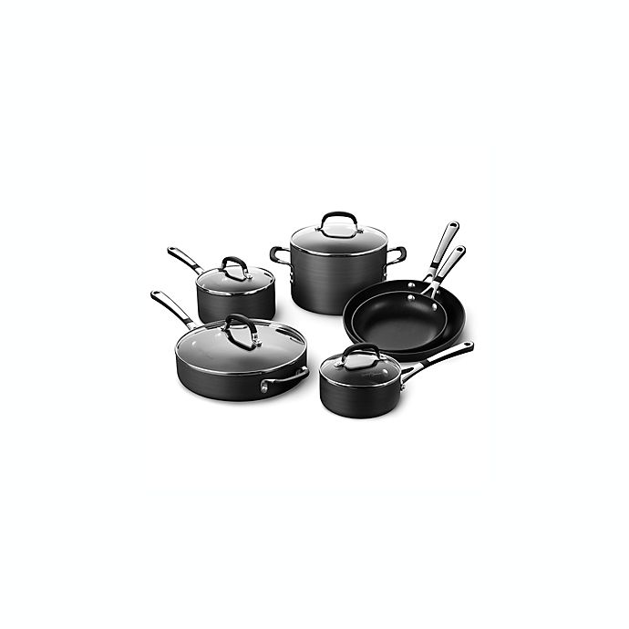 Alternate image 1 for Simply Calphalon® Nonstick 10-Piece Cookware Set