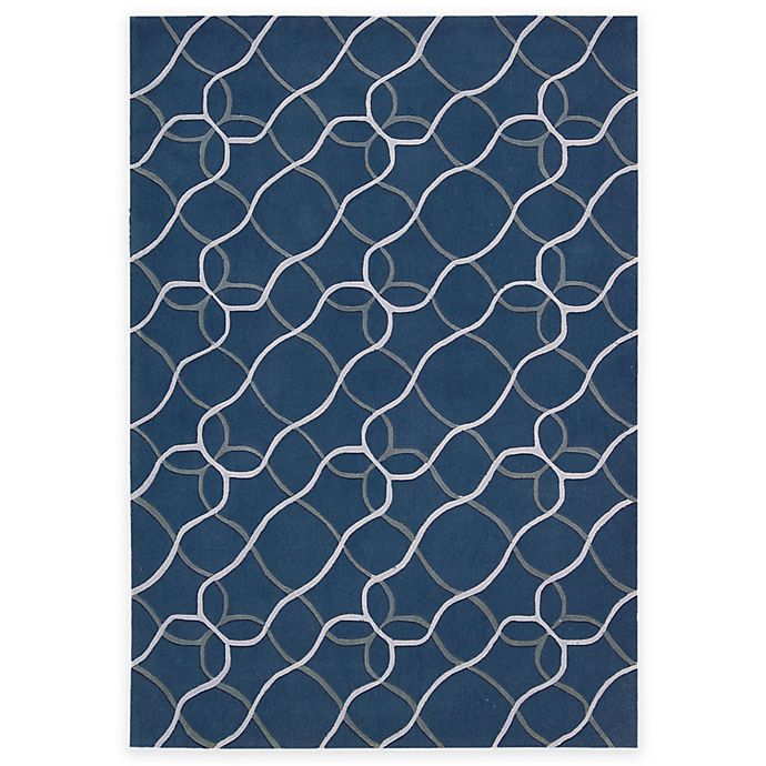 Alternate image 1 for Nourison Contour Tile Area Rug