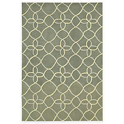 "Nourison Contour 7'3"" x 9'3"" Hand Tufted Area Rug in Sage"
