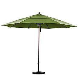 California Umbrella 11-Foot Double Vent Bronze Pole Market Umbrella