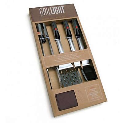Grillight 4-Piece BBQ Tool Gift Set