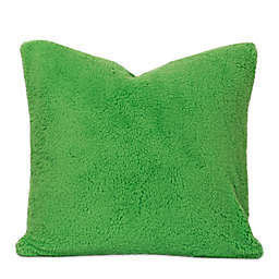 Crayola® Playful Plush 26-Inch Square Throw Pillow in Green