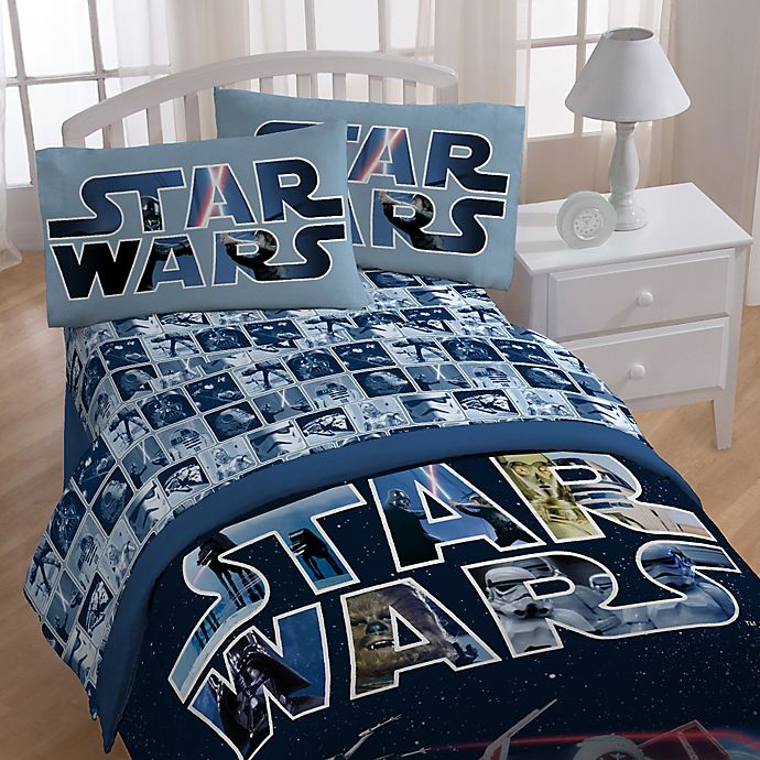Alternate image 1 for Star Wars™ Space Battle Twin Sheet Set