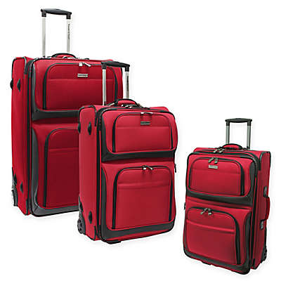 Traveler's Choice® Conventional II Rugged Rollaboard Suitcase Collection