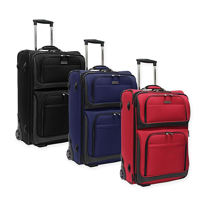 Alternate image 1 for Traveler's Choice® Conventional II 26-Inch Rugged Rollaboard Suitcase
