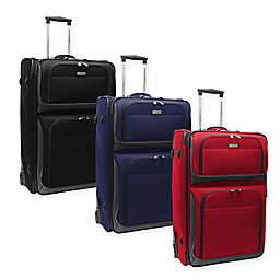 Traveler's Choice® Conventional II 30-Inch Rugged Rollaboard Suitcase