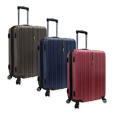 Traveler's Choice® Tasmania 25-Inch Expandable Spinner Suitcase
